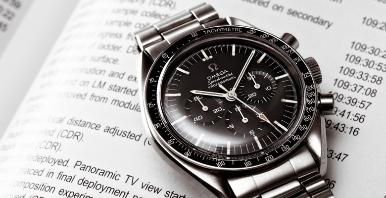 An Omega Speedmaster Ref.145.012. Photo courtesy of Wikipedia.