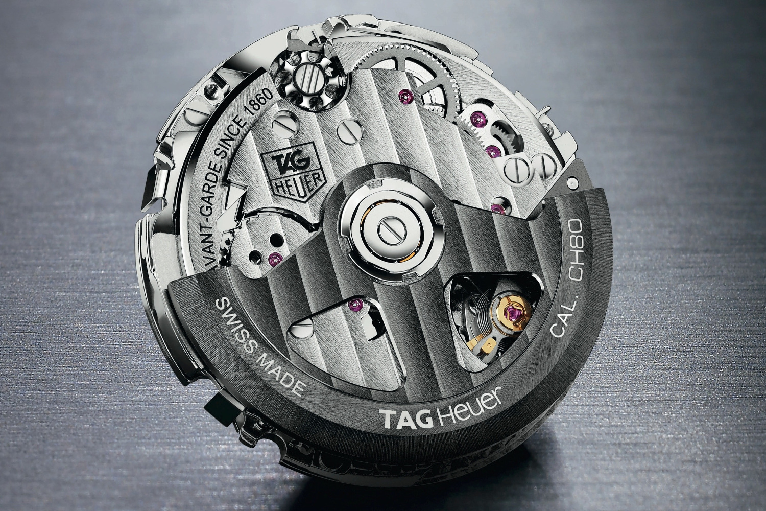 The press release images of the CH80, what would have been a fantastic movement if it have ever seen the light of day. Photo courtesy of TAG Heuer.