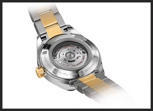 The new and improved Calibre 8500.   www.omegawatches.com