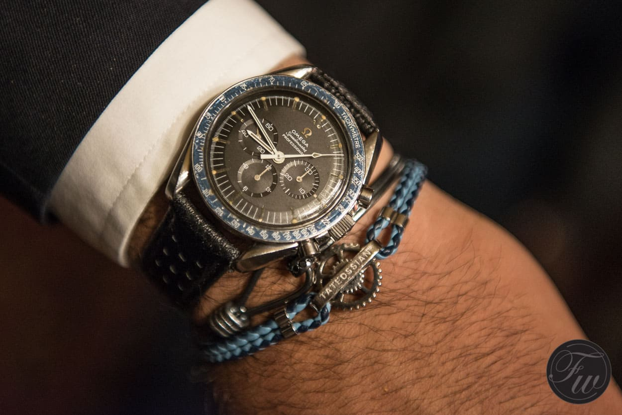 A wristie is a powerful and brief look into the life of the watch and owner. Owner of the watch, HeuerLoon. Photo Courtesy of FratelloWatches