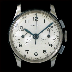 Lost to Time: Gallet Part One — Timepiece Chronicle