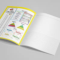 4. Add your own custom content  You can use the inner covers to add useful teaching and learning resources.