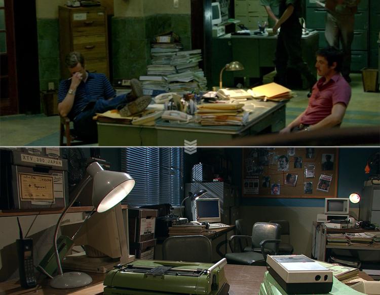 Set design and props based on the original Netflix show.