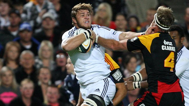 Duane Vermeulen in action against the Chiefs last season. Vermeulen's all action, physical game embodies the demands of the modern rugby player.