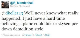 One of the controversial tweets involving American politicsfrom Rashad Mendehall that caused a social media storm.