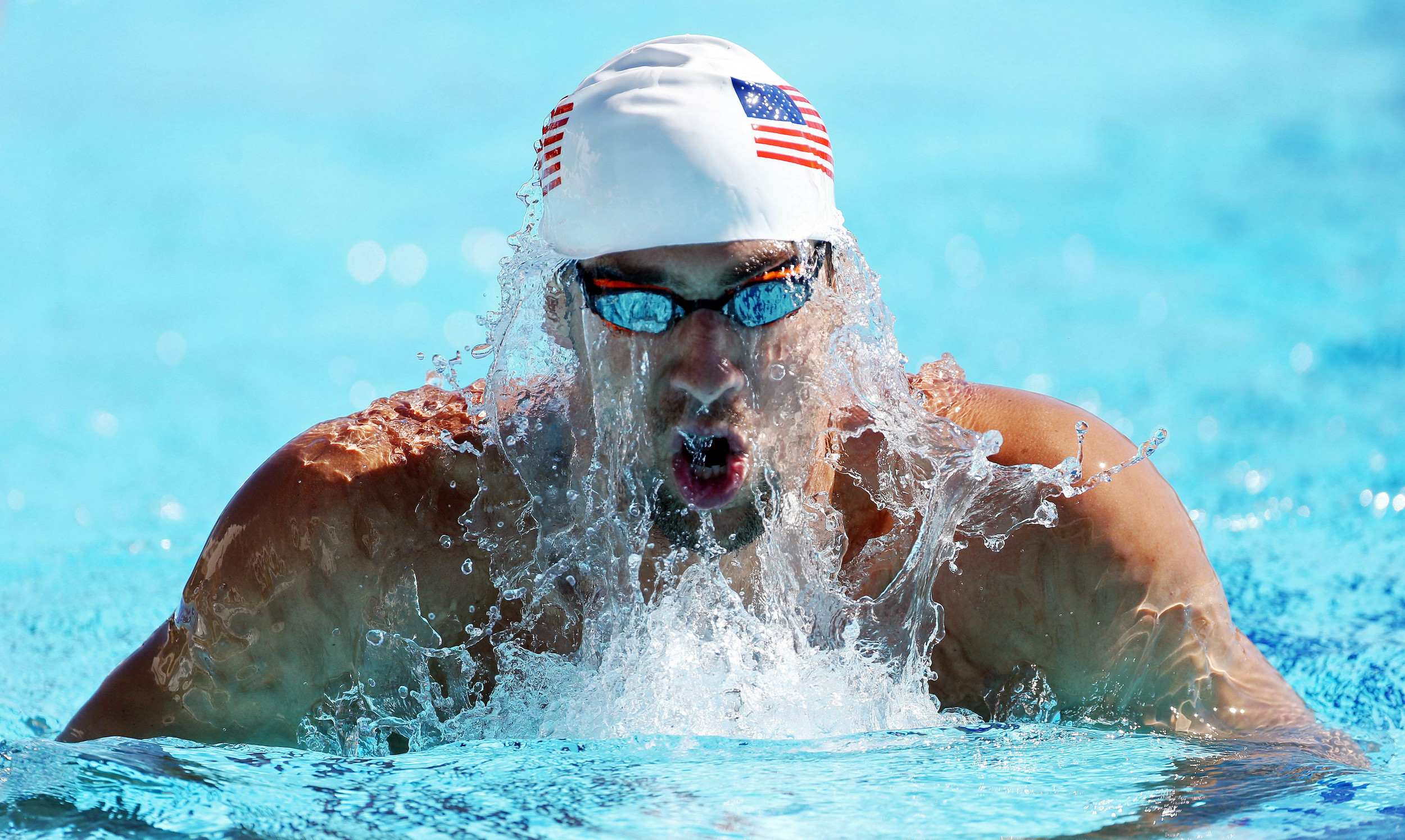 Michael Phelps, perhaps the greatest sportsman to have ever lived, has been living with Attention Deficit Disorder for most of his life. However, this hasn't effected his performances in the pool as he has managed to control his arousal levels for the task at hand. Action Images / Jason O'Brien Livepic
