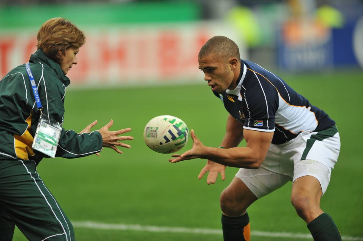 At the peak of his powers, Bryan Habana was one of the best in the world when it came to spotting, and executing interceptions. So many times, the South African speedster galloped away from crestfallen opponents who went from attack to defense in the blink of an eye. Image supplied by EyeGym.