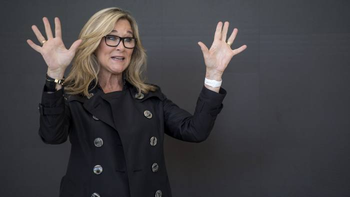 Angela Ahrendts: 'The last five years have been the most stimulating, challenging and fulfilling of my career' © Bloomberg
