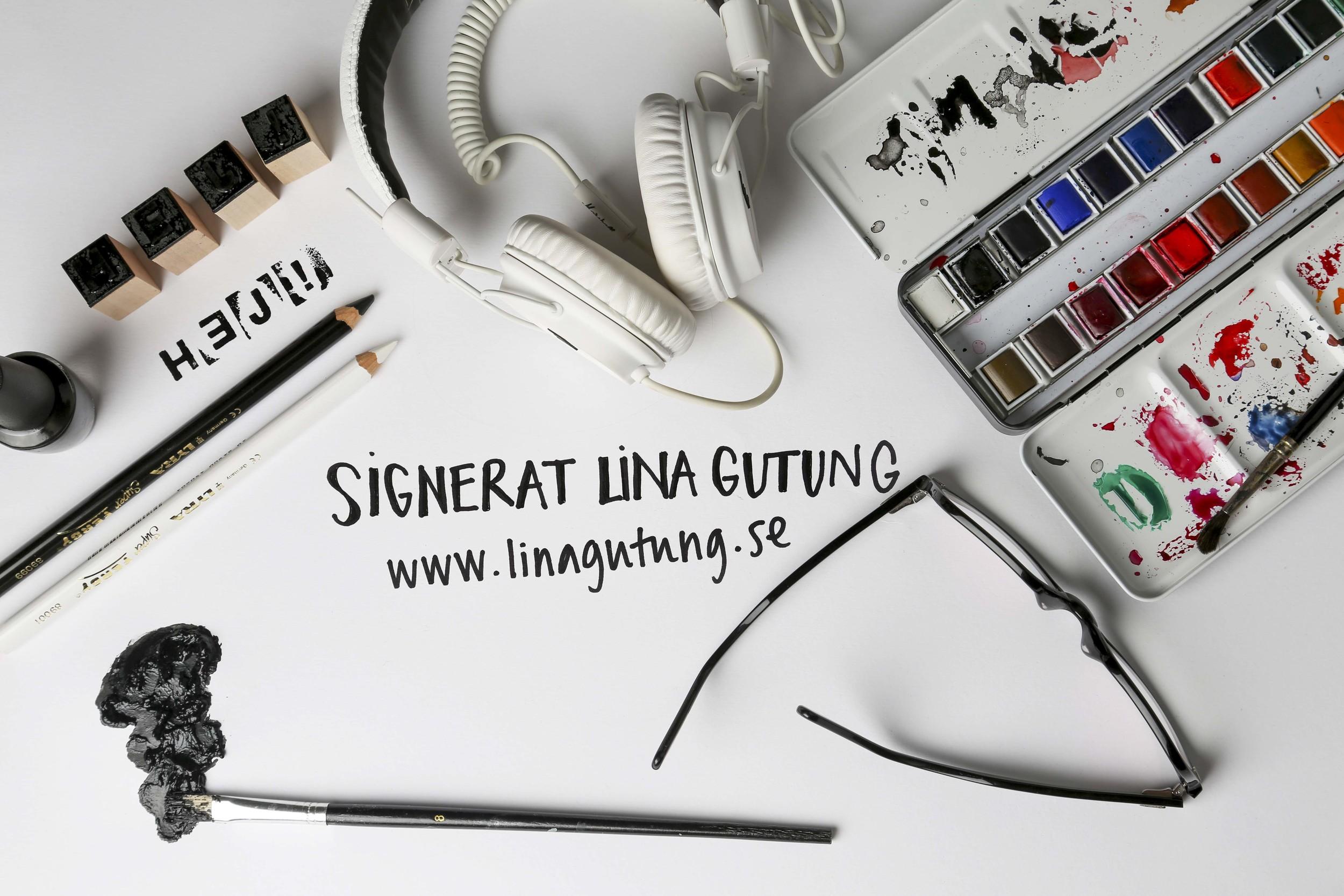 Signerat Lina Gutung