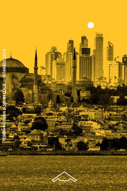 """Istanbul 2023"", Yoann Morvan & Sinan Logie, B2 editions, Paris, 2014"