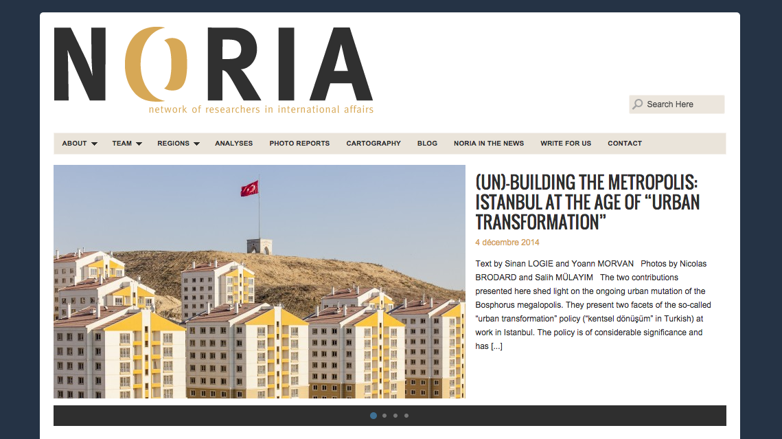 Noria Research - network of researchers in international affairs, 2014