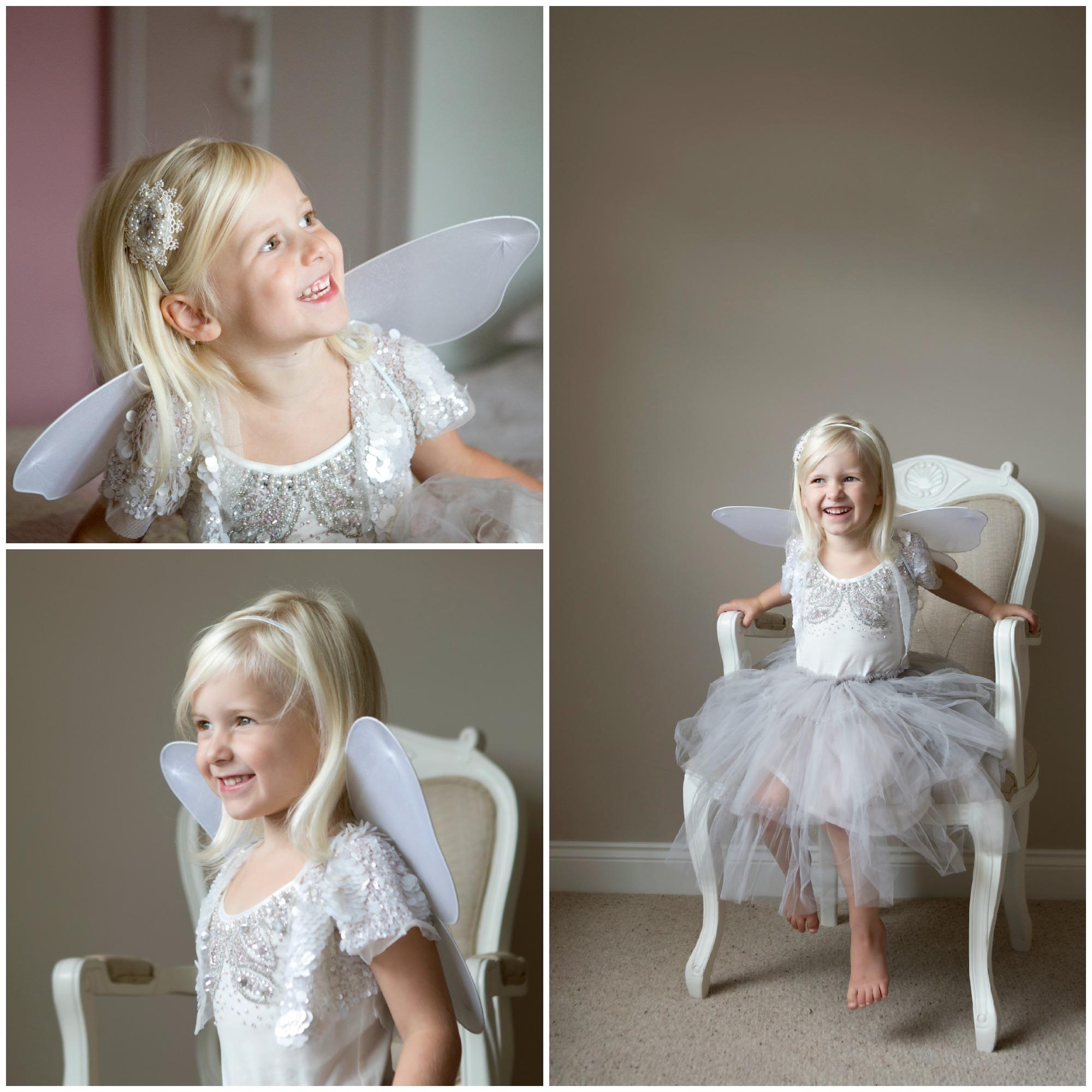 girl dressed as fairy - Children Photographer Essex