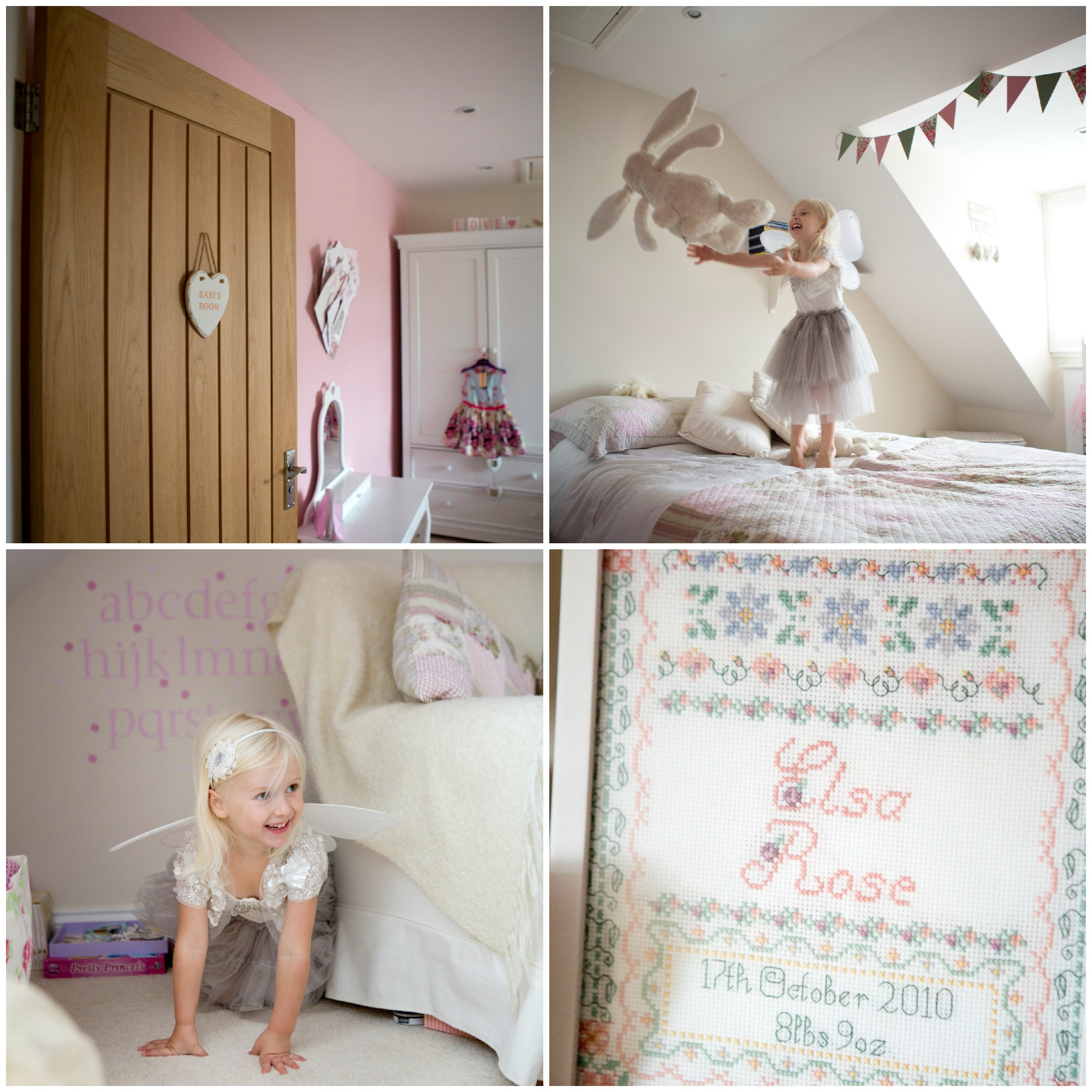 little girl playing in her room - Lifestyle Photography Essex