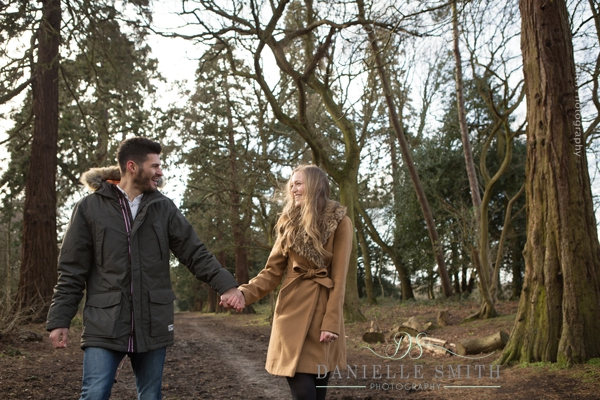 winter couples photo shoot - pre-wedding photography
