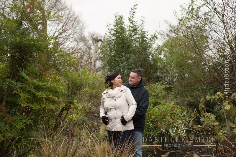 couple standing in park chelmsford