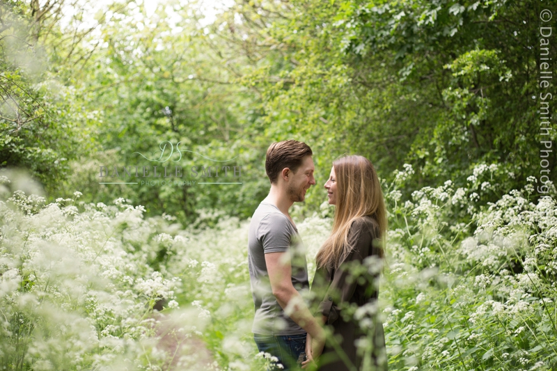 couple in country park - basildon