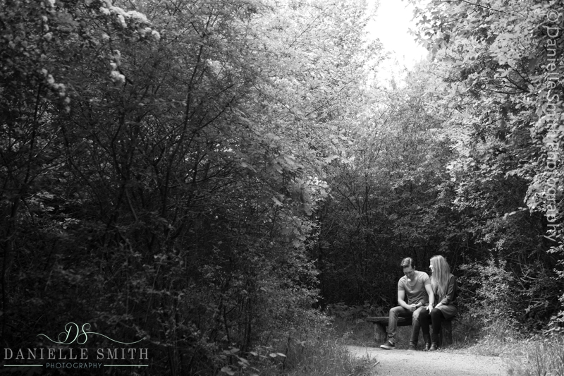 couple's pre-wedding session in basildon