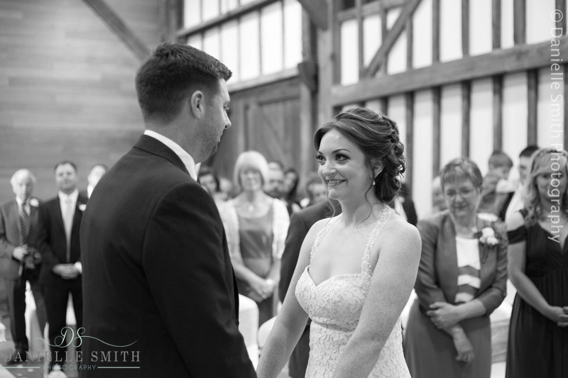 wedding ceremony - barn wedding in purfleet