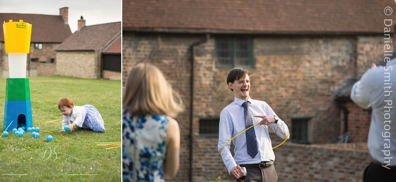 gardens games - barn wedding in purfleet