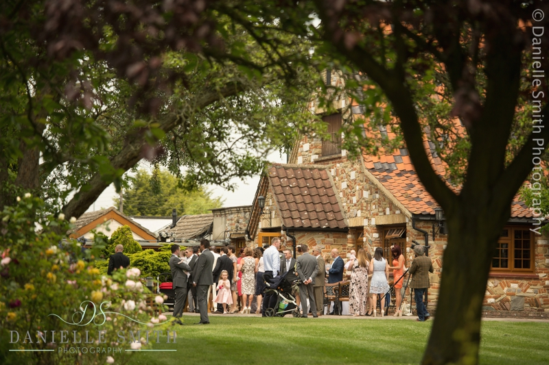 wedding guests at ye old plough house