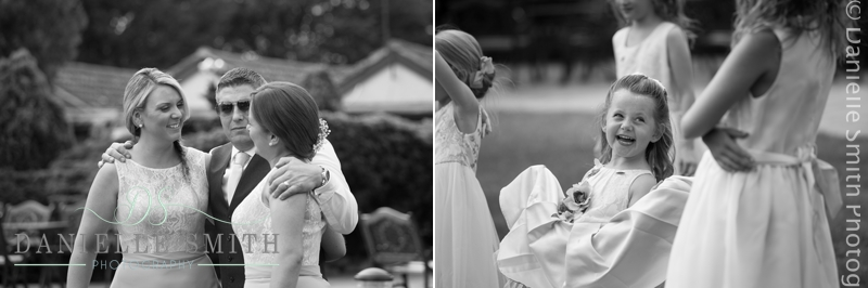 candid photos of wedding guests at ye olde plough