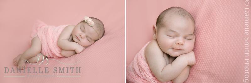 newborn baby -pink