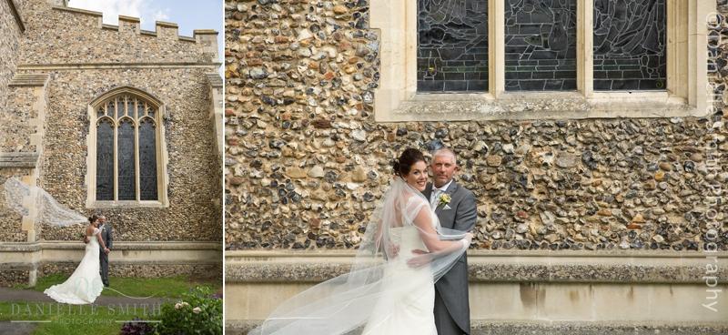 wind blowing brides veil away