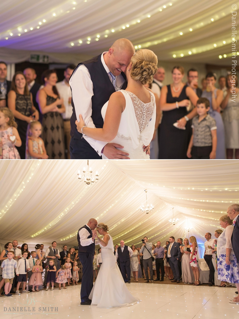 bride and groom  first dance at mulberry house