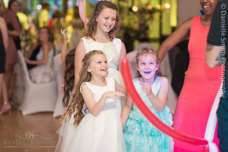 kids entertainer at wedding