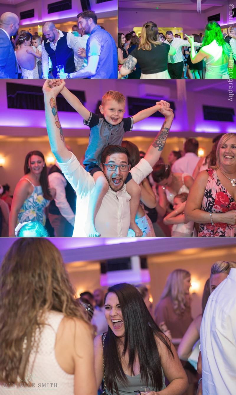 wedding guests dancing - arlington ballrooms wedding