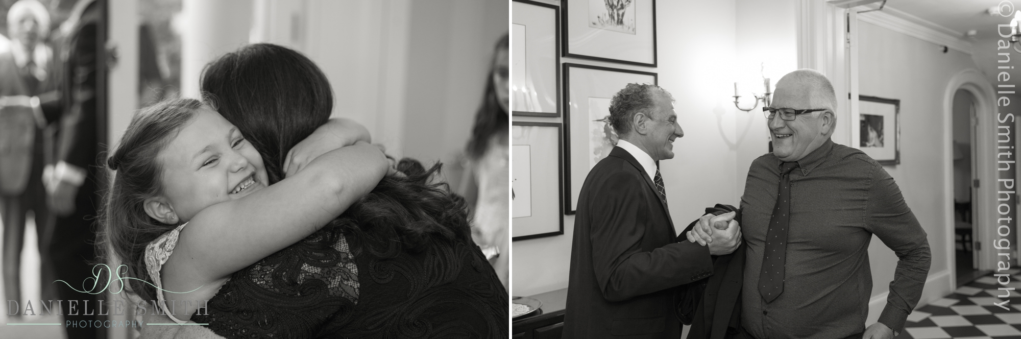 wedding guests having fun - fennes intimate wedding