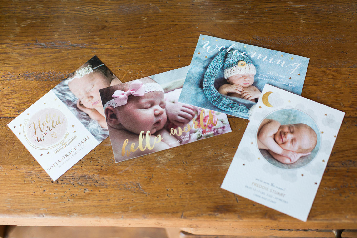 announcement cards new baby