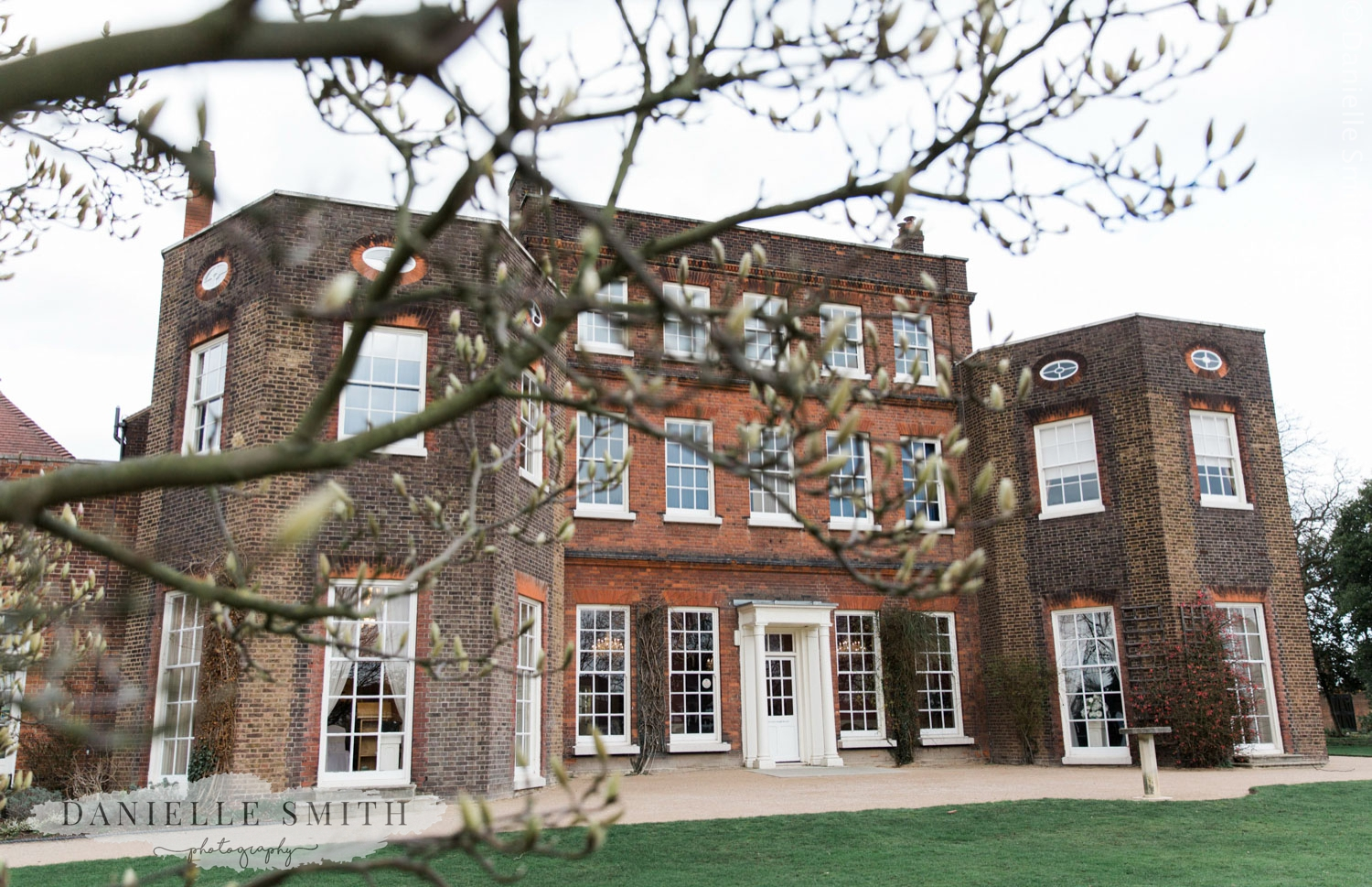 langtons house registry office in spring