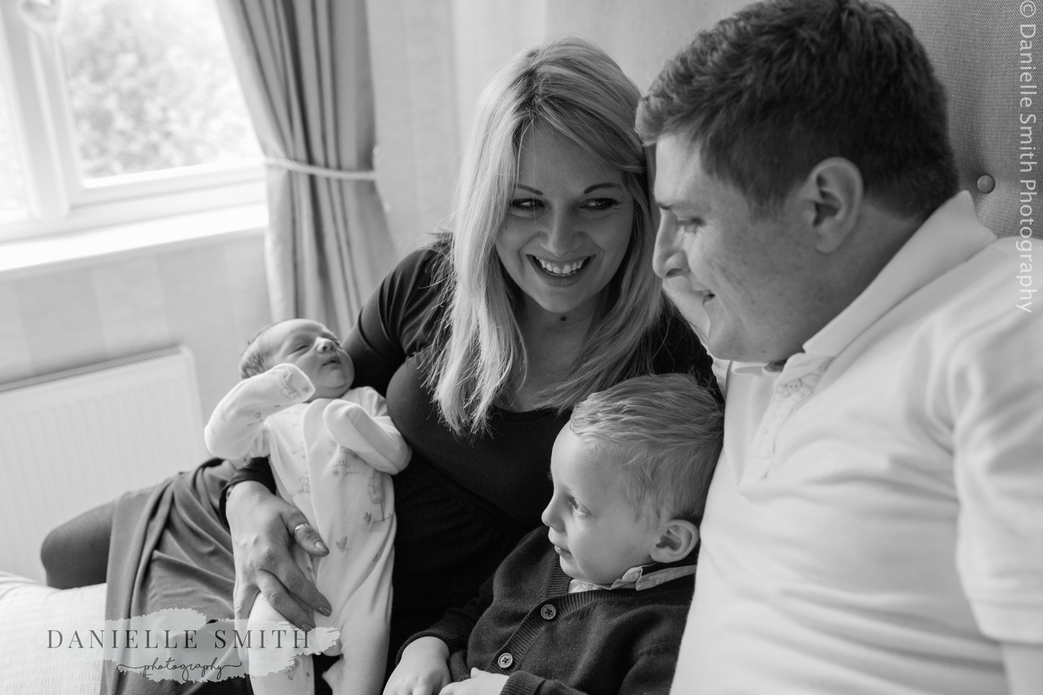 family photo - lifestyle newborn photography chelmsford