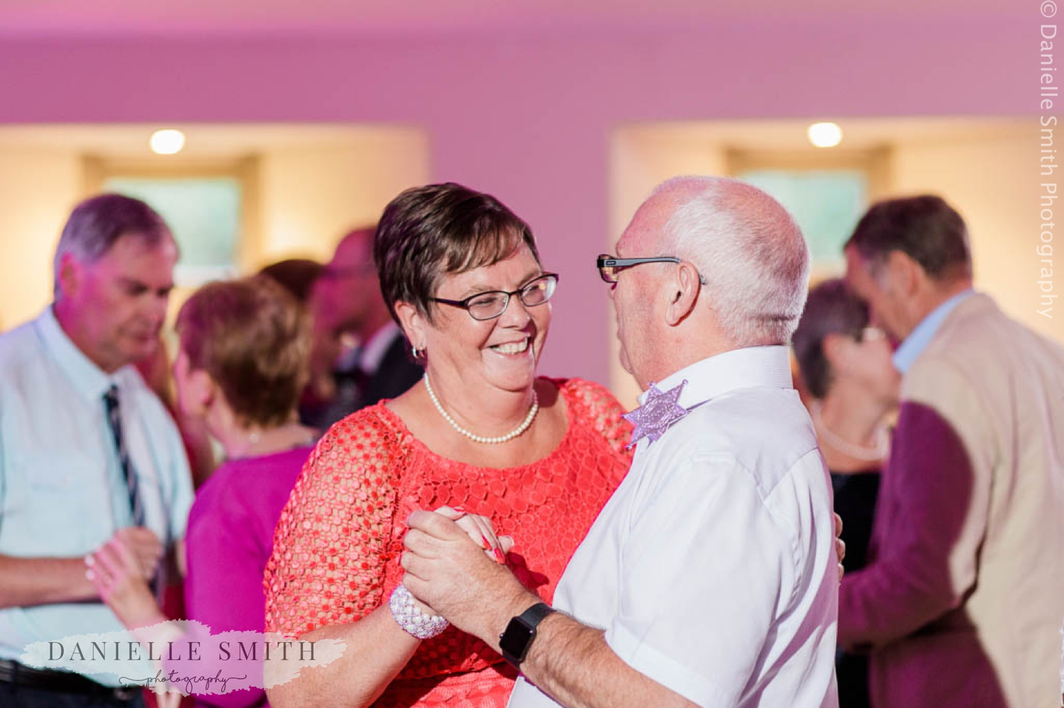 couple dancing on dance floor