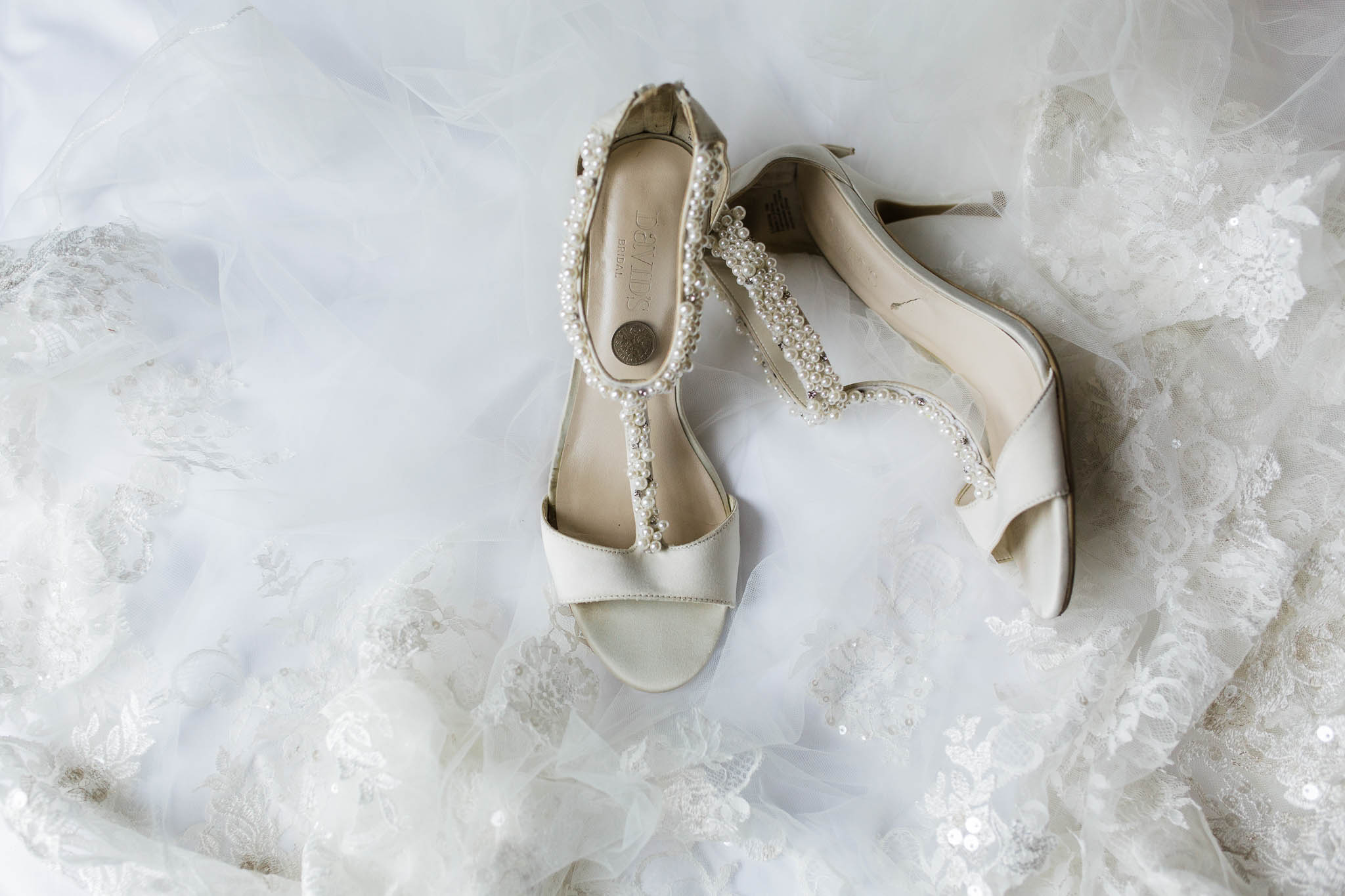 davids bridal beaded wedding shoes