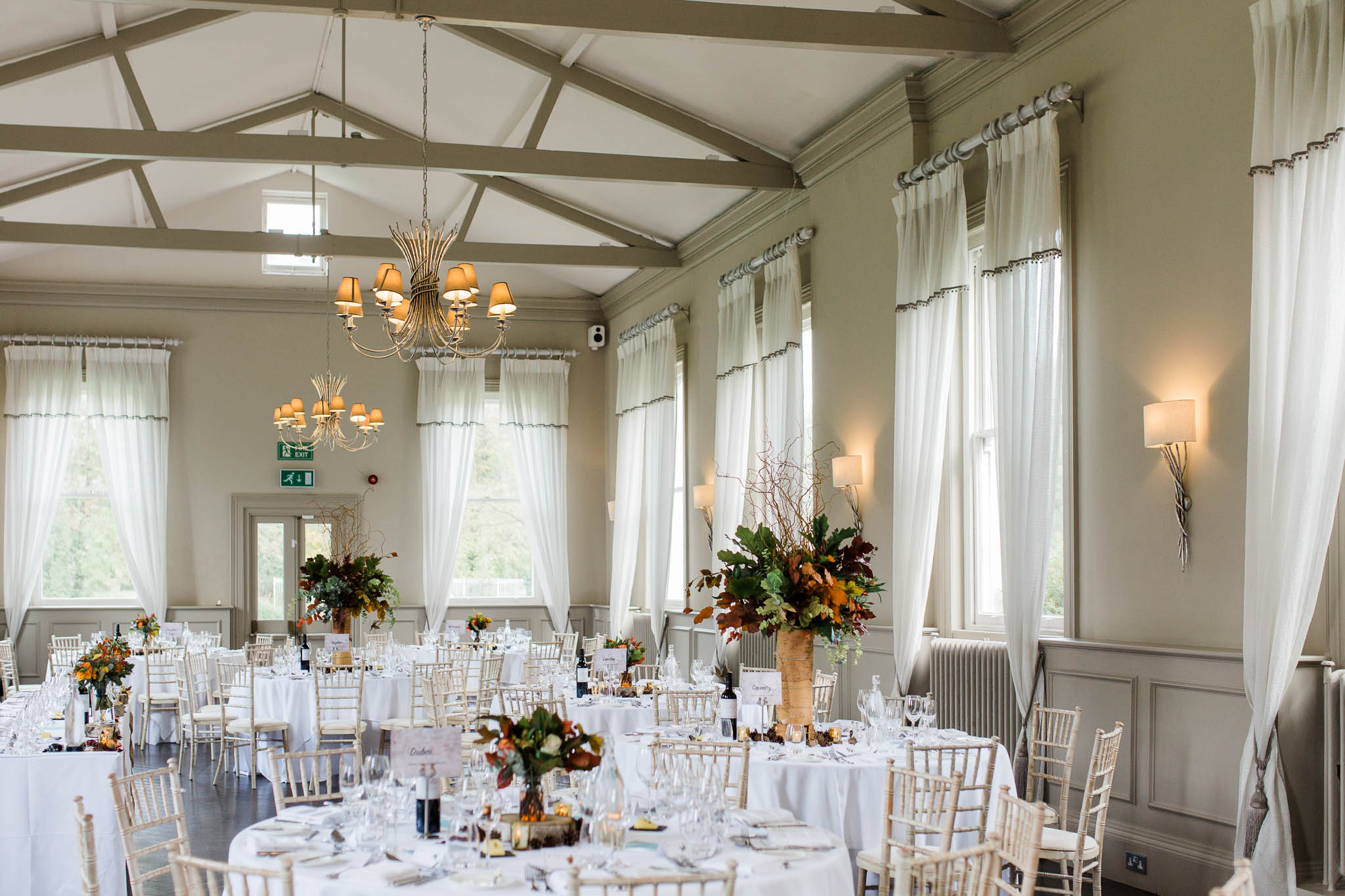 morden hall wedding breakfast room