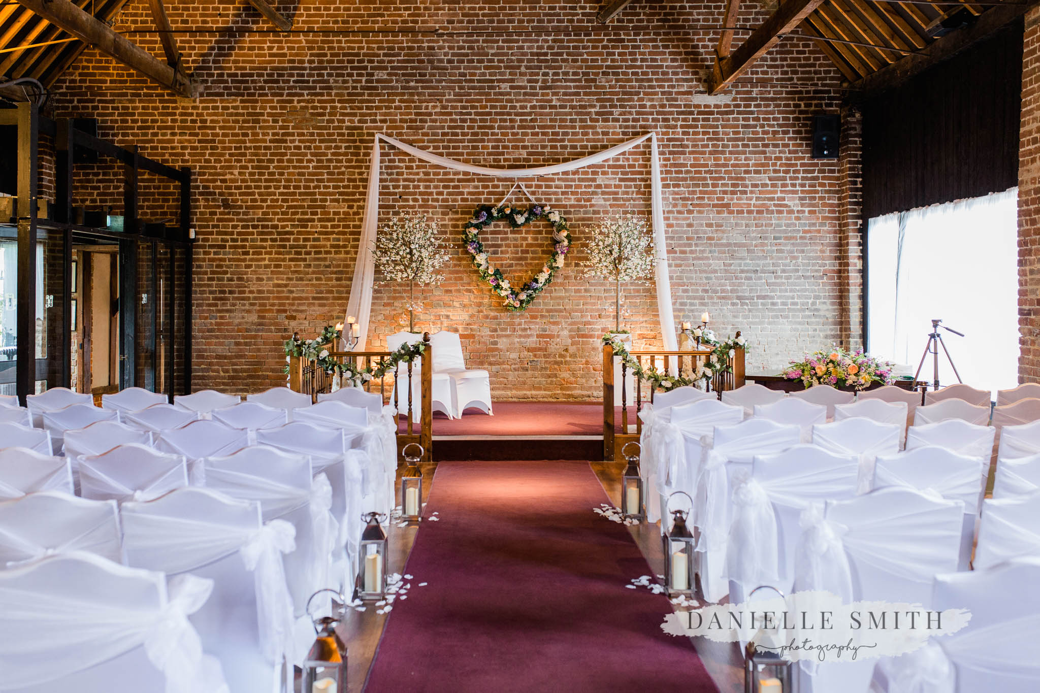 ceremony barn at cooling castle - kent wedding photographer