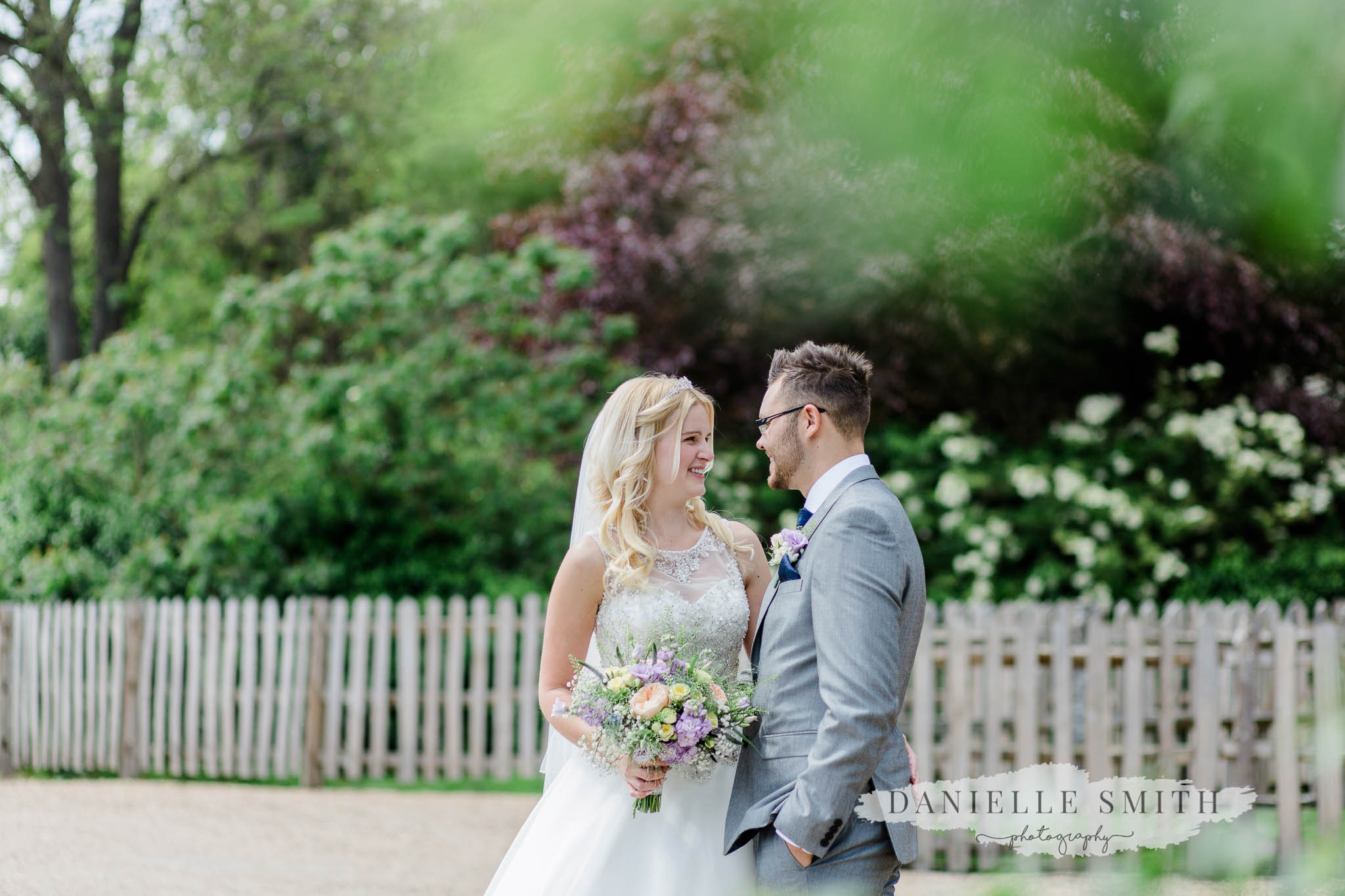 bride and groom portrait cooling castle - wedding photography in kent