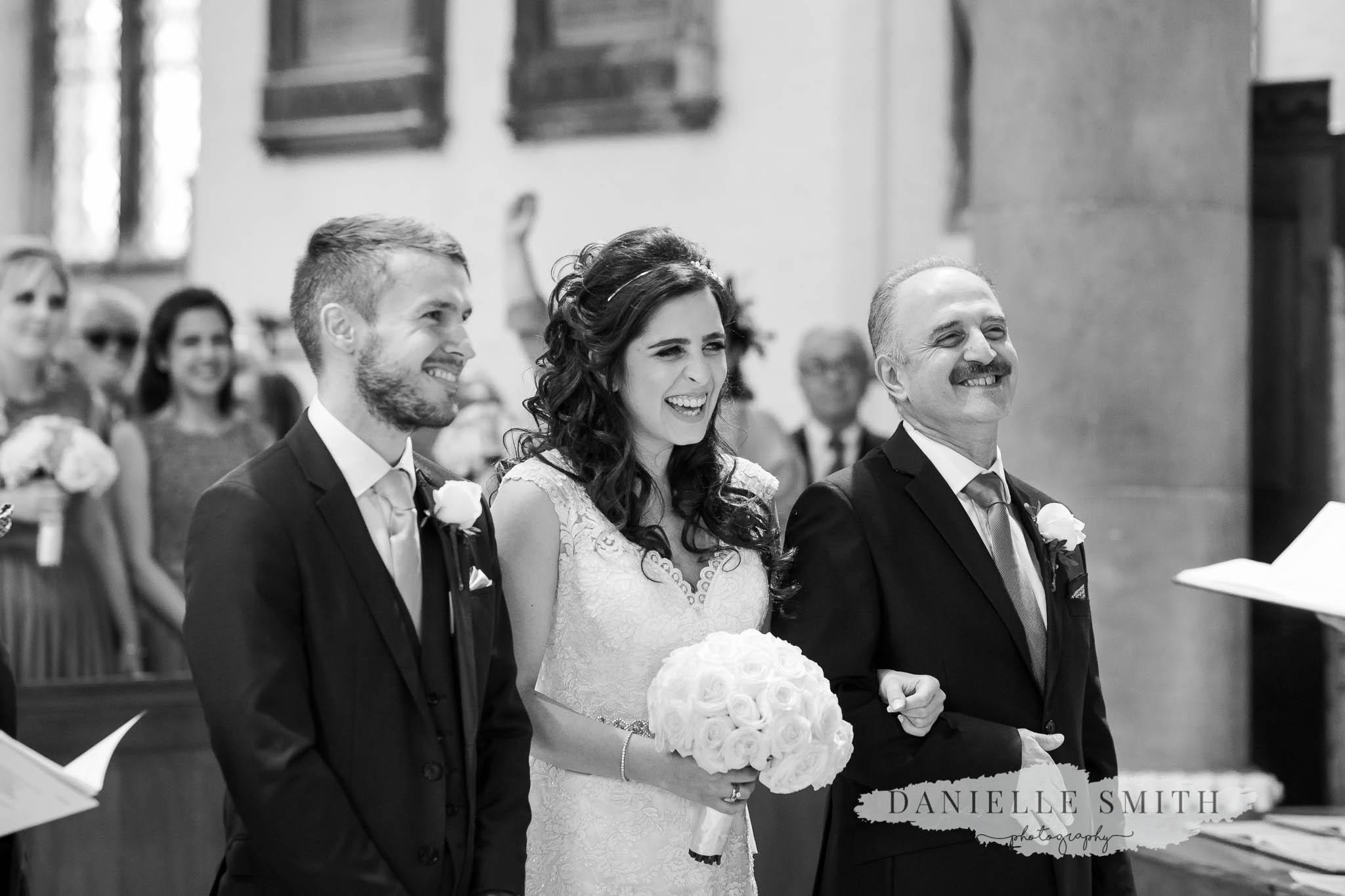chilled turkish-english wedding ceremony