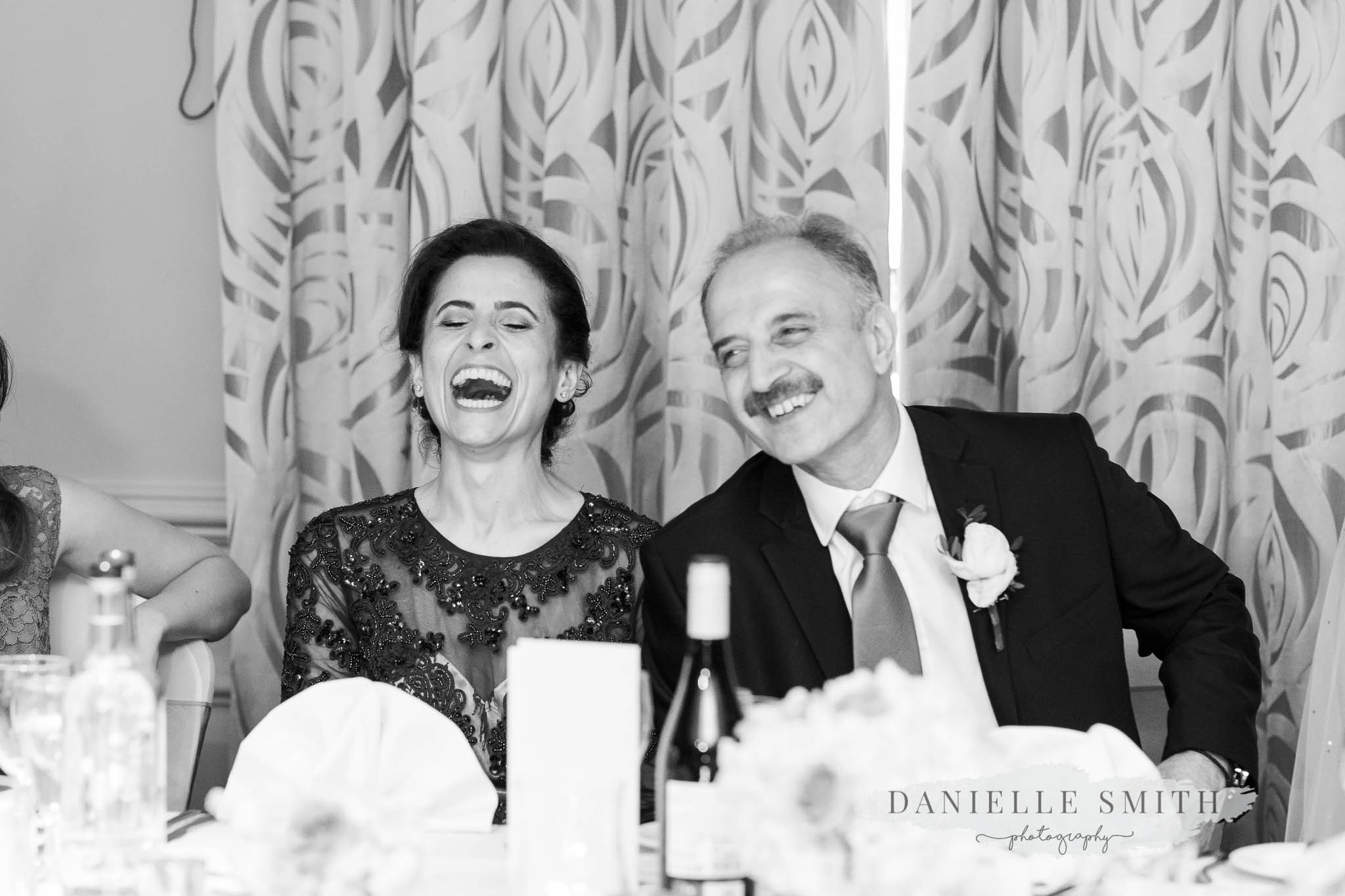 turkish parents laughing at speeches