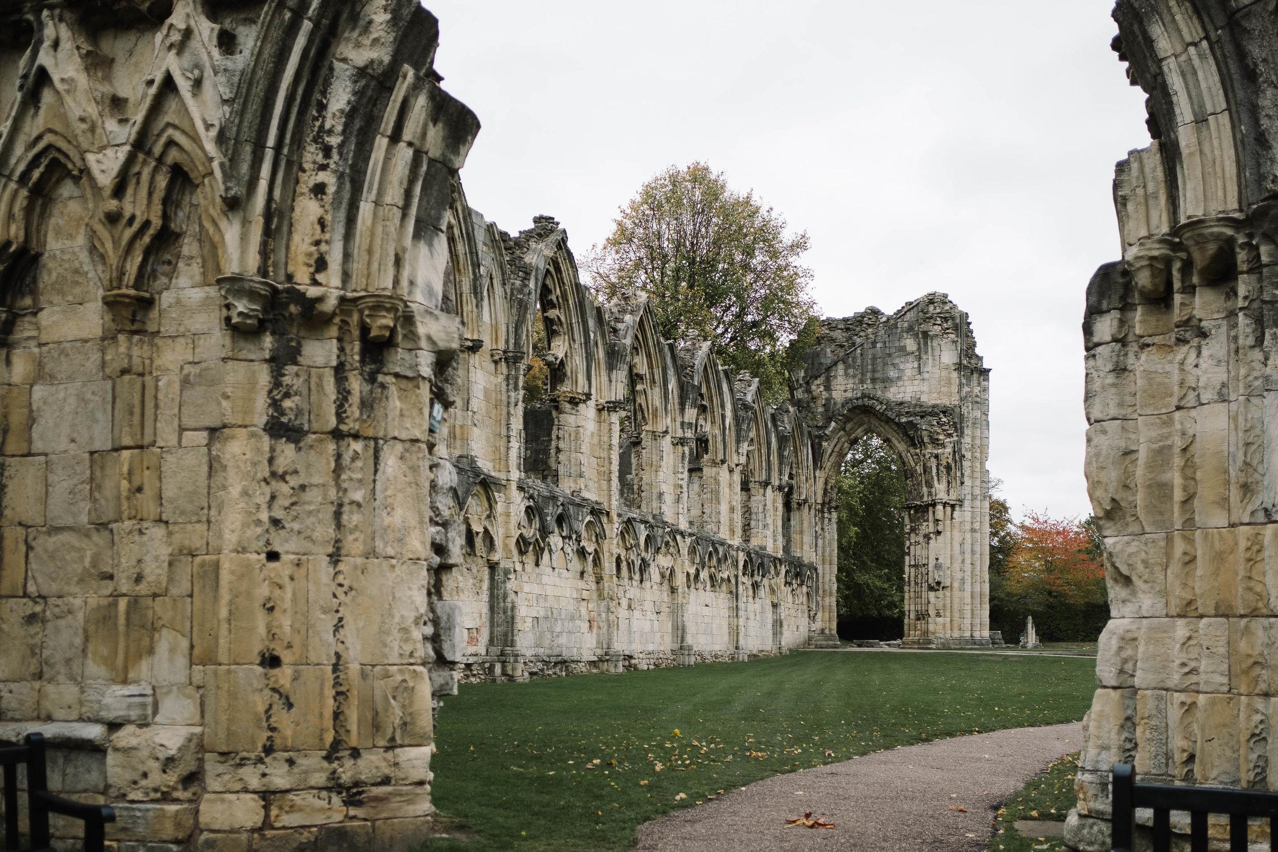 The Hospitium, York ruins