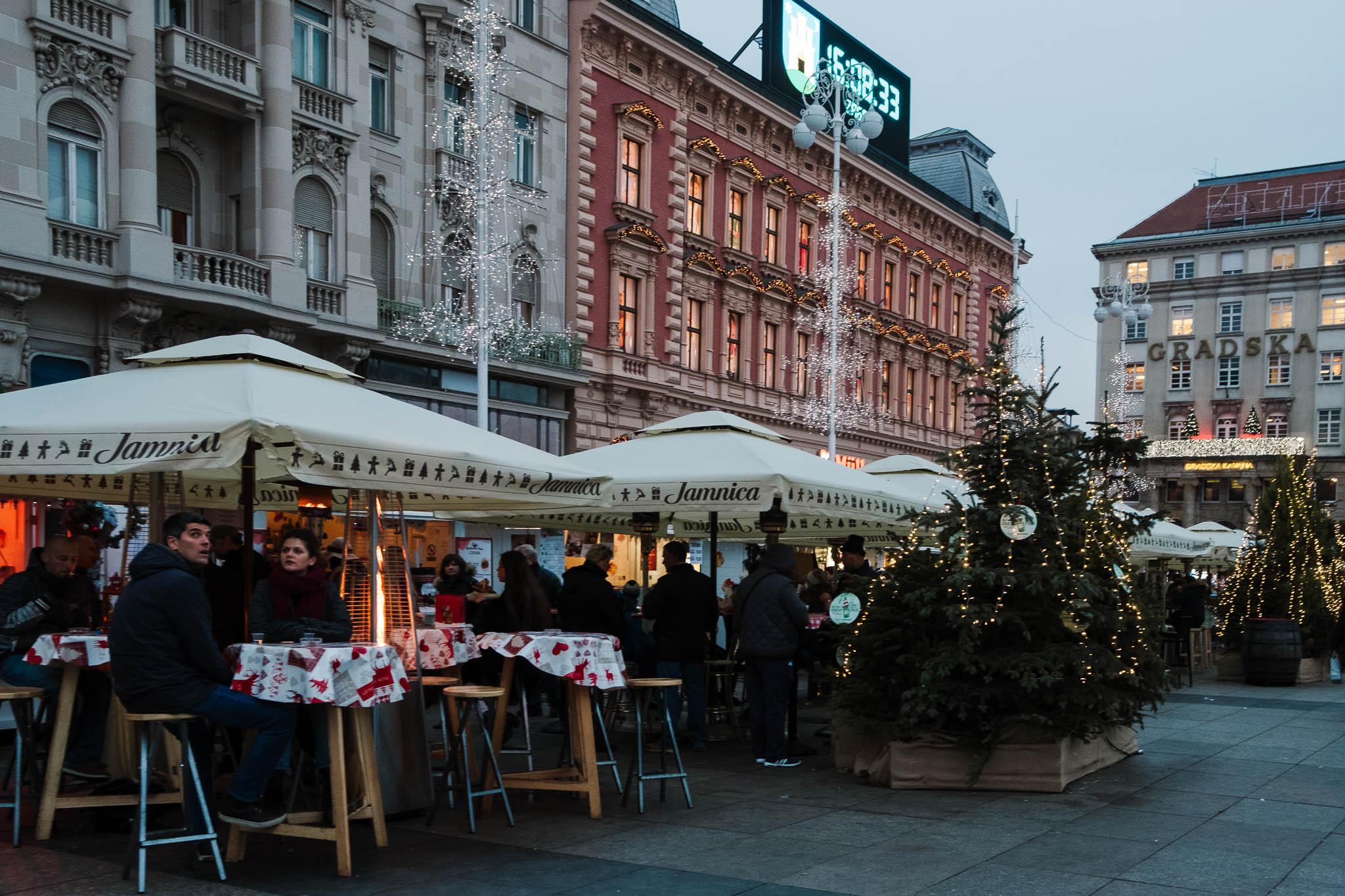 christmas markets in zagreb