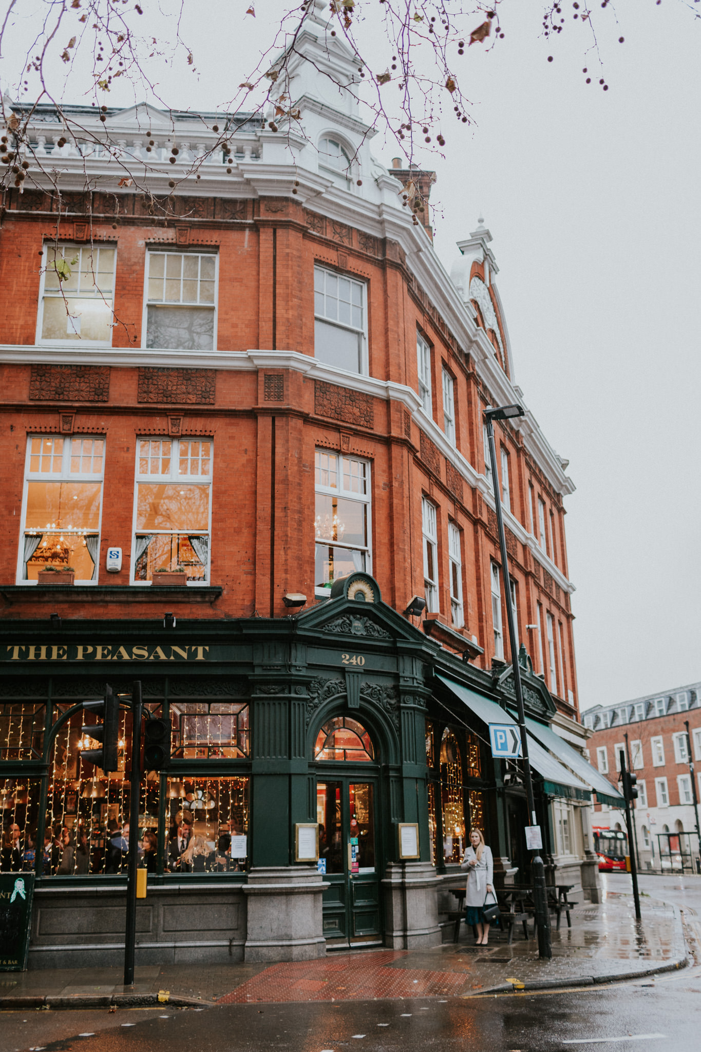 The Peasant Clerkenwell- Image by  Maja Tsolo