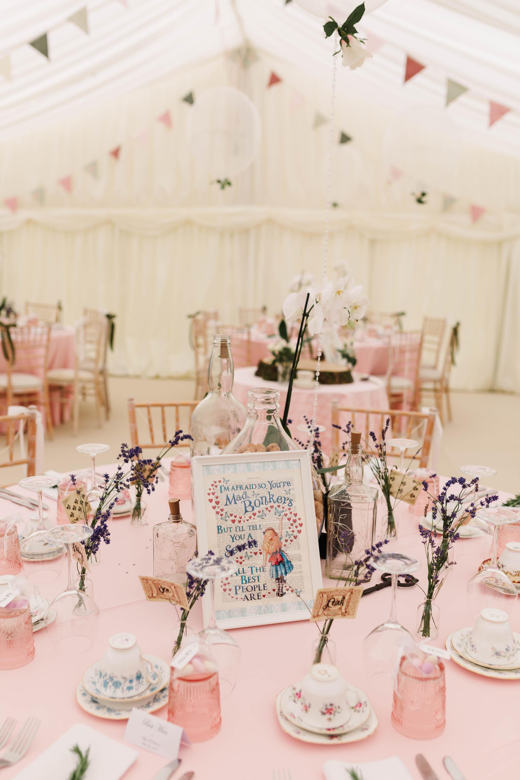 vintage wedding table decor afternoon tea