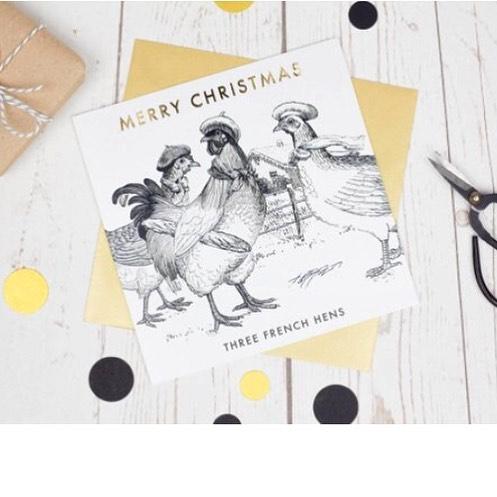 Shipping these lovely ladies to Texxxxxxaaaaas today! Fa la la la laaaaaa . . . #threefrenchhens #makersmovement #maker #makersgonnamake #etsy #etsyshop #etsyseller @etsylondon @etsyuk #christmascards #twelvedaysofchristmas