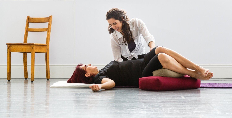 Teaching pure movement in a rehabilitative approach