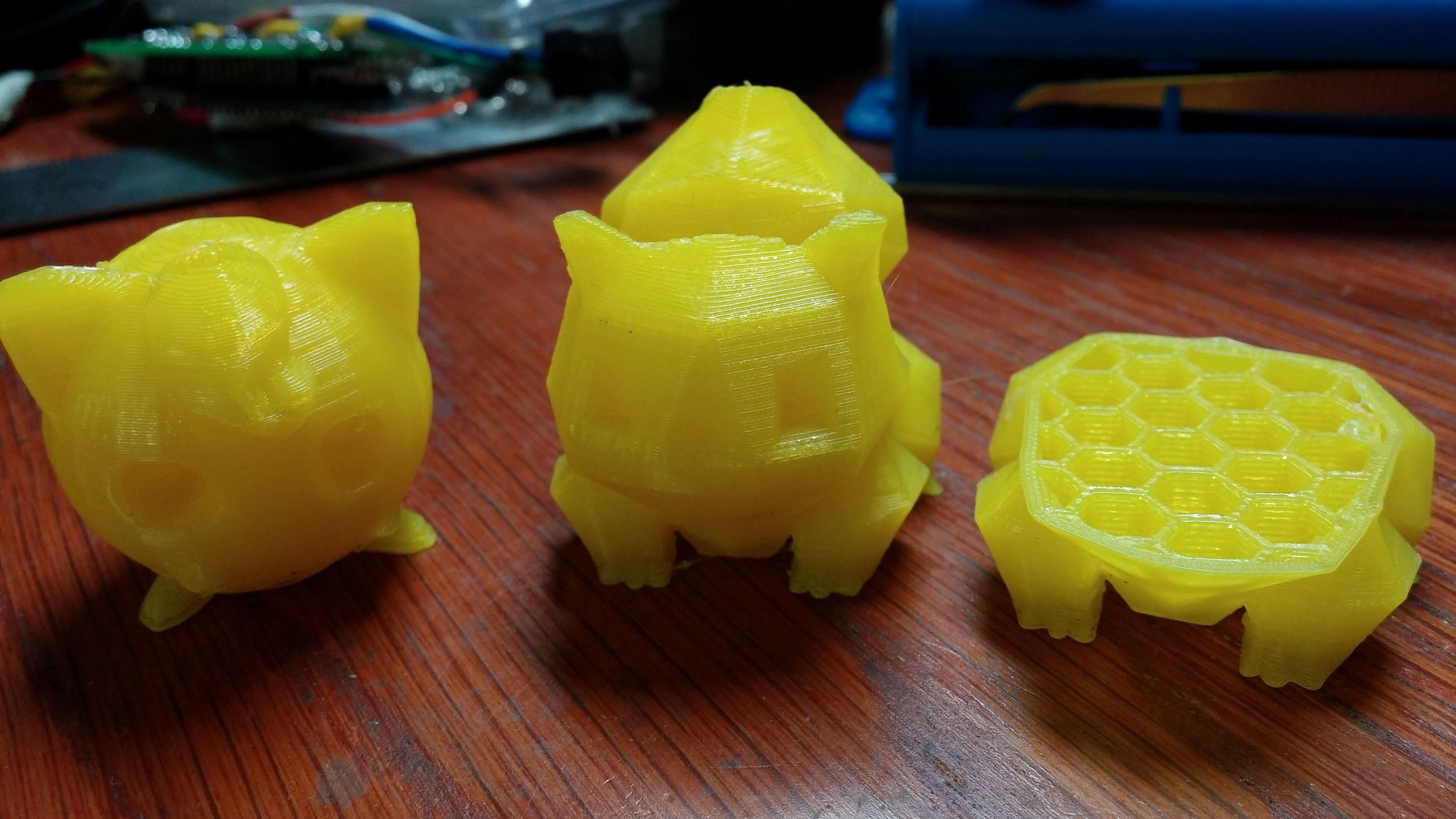 All models are downloaded from  Thingiverse .