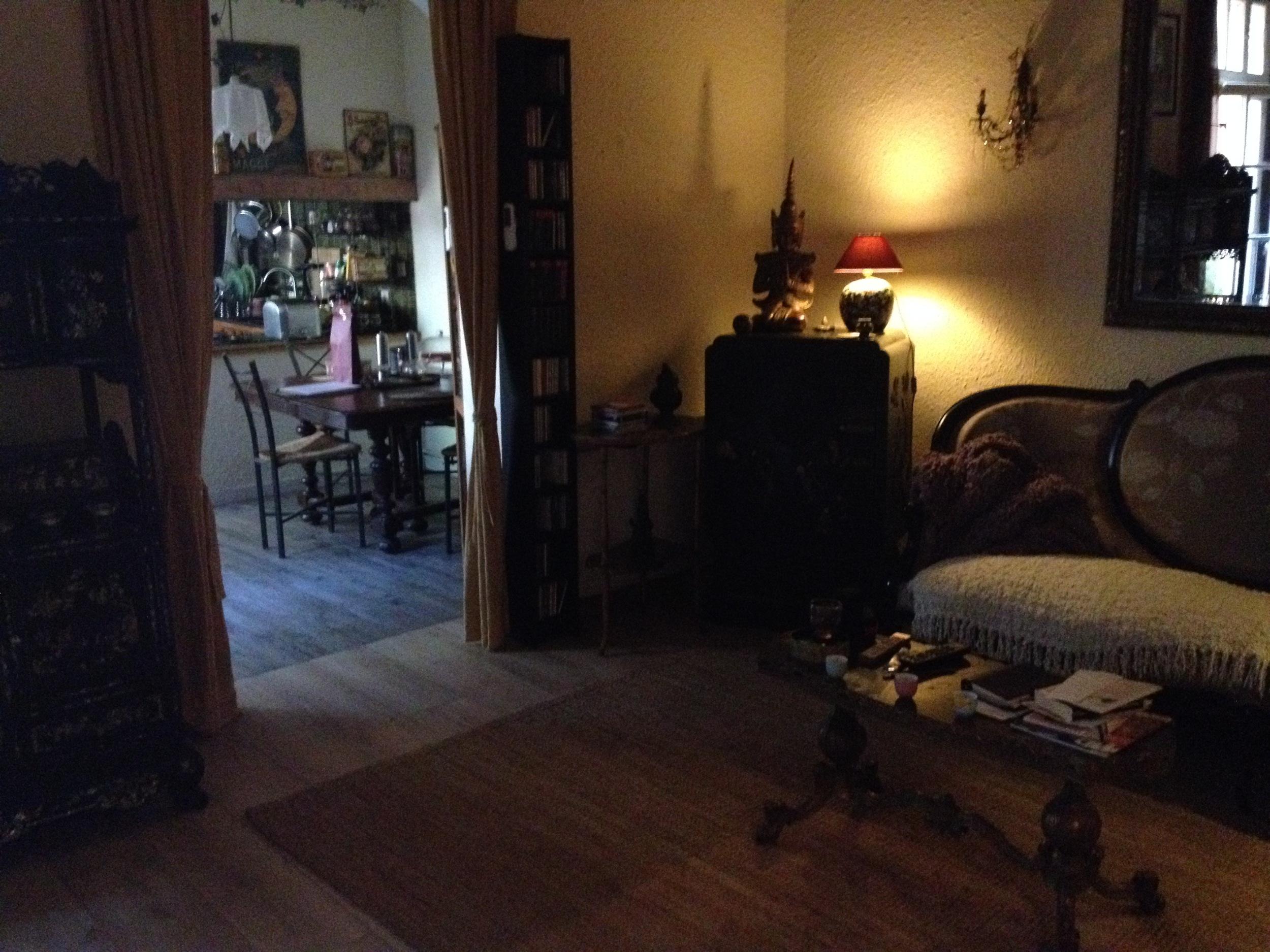 Michèle's charming apartment.