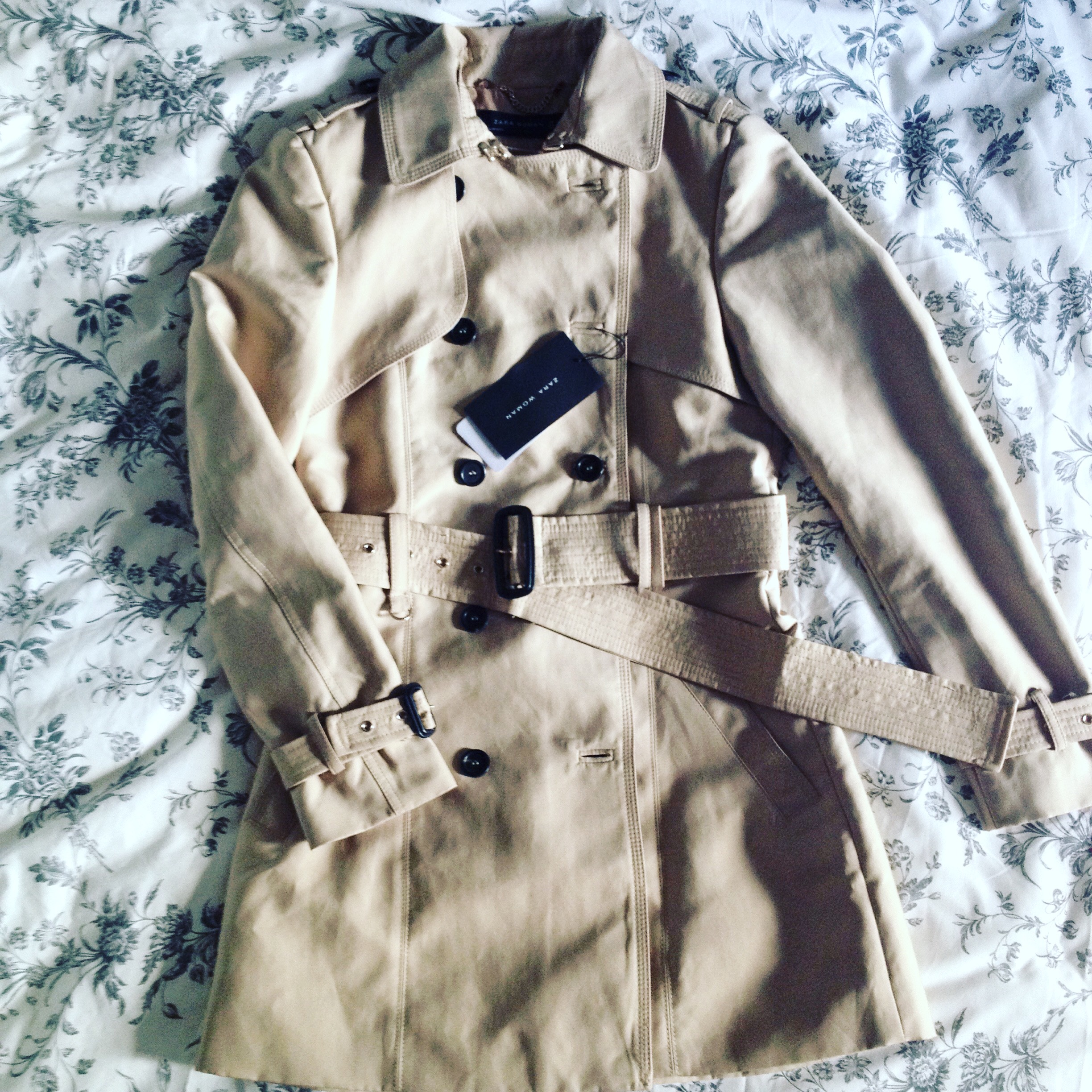 Classic trench: Zara, €79. A steal if you ask me!